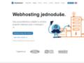 Náhled webu Hosting Blueboard.cz