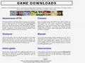 Náhled webu Hry zdarma