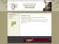 Náhled webu Orchestr města Hodonína