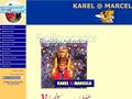 Náhled webu Karel @ Marcela