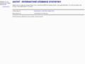 Náhled webu IAstat - Interaktivní učebnice statistiky
