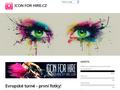 Náhled webu Icon For Hire