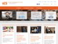 Náhled webu IES - Institut ekonomických studií