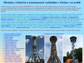 Náhled webu Rozhledny Čech, Moravy a Slezska