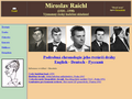 Náhled webu Raichl, Miroslav
