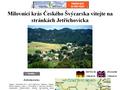 Náhled webu Jetřichovice a okolí
