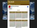 Náhled webu Kalendář na každý měsíc i rok