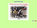 Náhled webu Kart Fastest Man