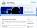 Náhled webu Katedera meterologie a ochrany prostředí