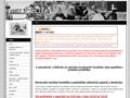 Náhled webu Koncentrační tábory