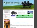 Náhled webu Koně-na-prodej.cz