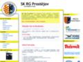 Náhled webu SK RG Prostějov