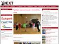 Náhled webu Klub sportovního tance NEXT Šumperk