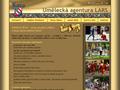 Náhled webu Agentura LARS