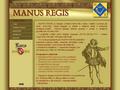 Náhled webu Manus Regis