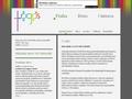 Náhled webu Logos Praha