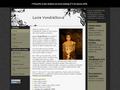 Náhled webu Lucie Vondráčková