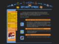 Náhled webu Star Trek humor