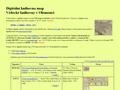 Náhled webu Digitální knihovna map: Vědecké knihovny v Olomouci