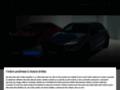 Náhled webu Mercedes-Benz