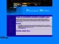 Náhled webu Pražské metro