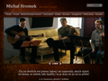 Náhled webu Hromek Michal