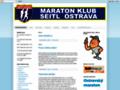 Náhled webu Maraton klub Seitl Ostrava