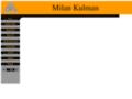 Náhled webu Kulman Milan