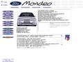 Náhled webu Ford Mondeo