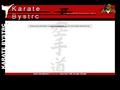 Náhled webu Karate Bystrc