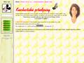 Náhled webu Kuchařské předpisy