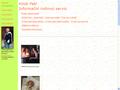 Náhled webu Knob Petr - Informační rodinný servis