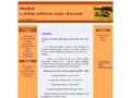 Náhled webu Incola et musica, sdružení