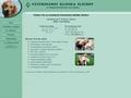 Náhled webu Veterinární klinika Zlíchov