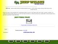 Náhled webu Jeep Willys Homepage