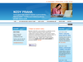 Náhled webu Marie Prskavcová - mzdy Praha