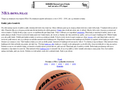 Náhled webu NBA News