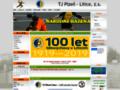Náhled webu TJ Plzeň - Litice