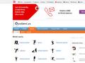 Náhled webu Cvičení a sportovní aktivity