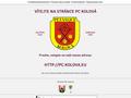 Náhled webu Petanque Club Kolová