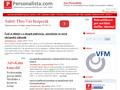 Náhled webu Personalista.com