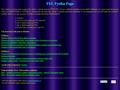 Náhled webu FEL Fyzika page