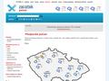 Náhled webu Počasí - zacatek.cz