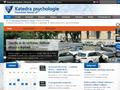 Náhled webu Katedra psychologie FF UP v Olomouci