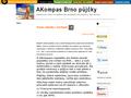 Náhled webu Akompas Brno