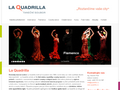 Náhled webu La Quadrilla