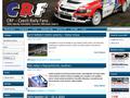 Náhled webu Czech Rally Fans