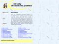 Náhled webu Chemie na základní škole