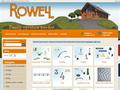 Náhled webu Rowell