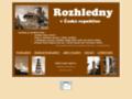 Náhled webu Rozhledny v České republice